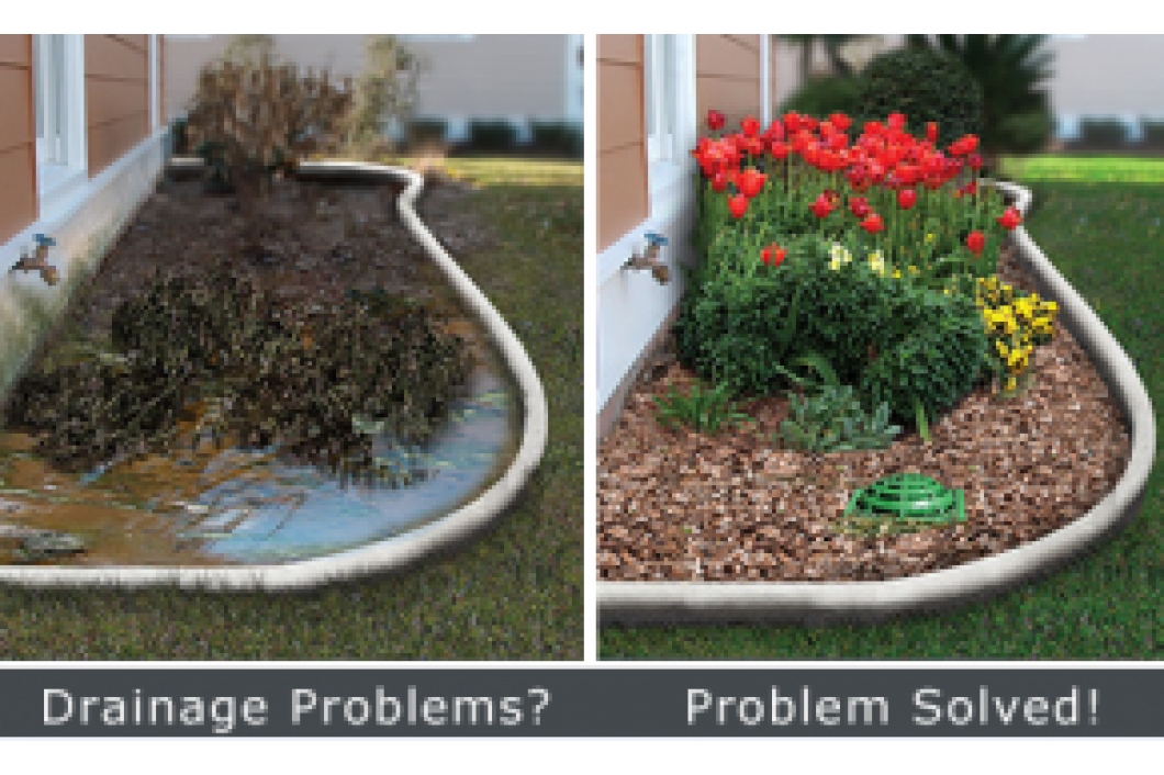 Are portions of your yard flooding?